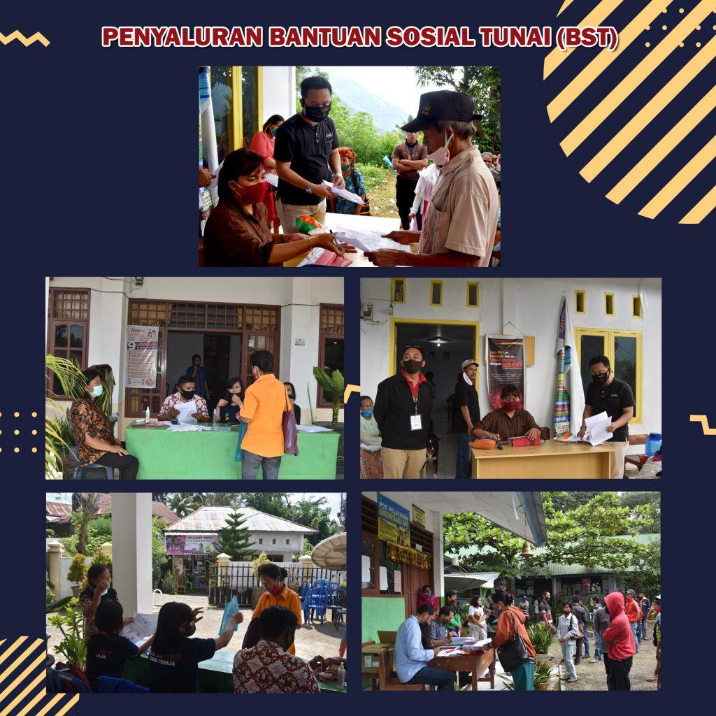 Bantuan Sosial Tunai Bst Dari Kementerian Sosial Sudah Tersalur Kepada 6 887 Penerima Covid 19 Tana Toraja
